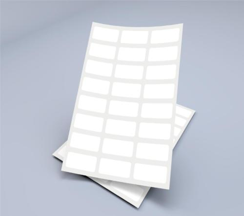 etykiety na arkuszach